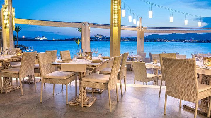 restaurante sa punta terraza