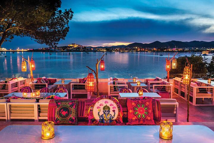 Restaurante Sa Punta, Patchwork. Ibiza