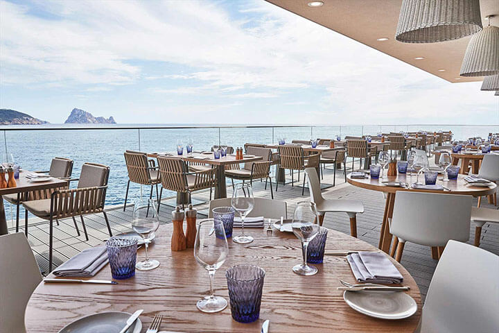Restaurante The View. Ibiza