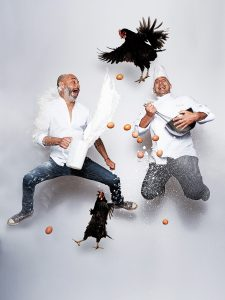 Rodolphe Sachs, propietario, y Diego Dechecco, chef ejecutivo, de Sa Punta
