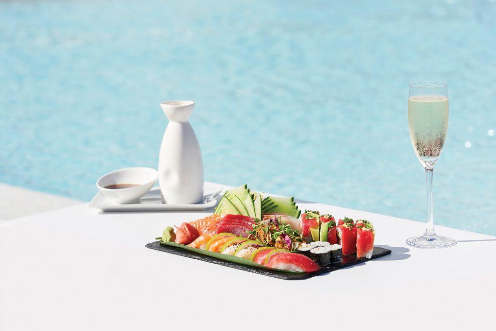 sushi The Oyster & Caviar Bar. Ibiza