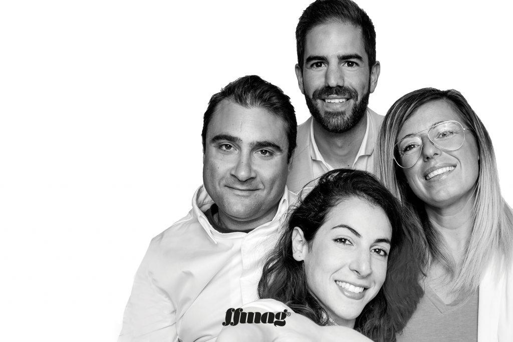 Chambao team. Ibiza