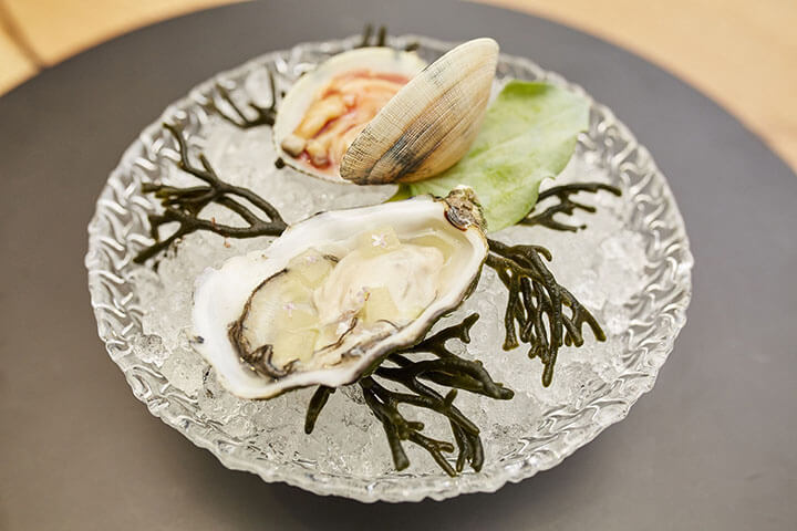 Amelie oyster and clam