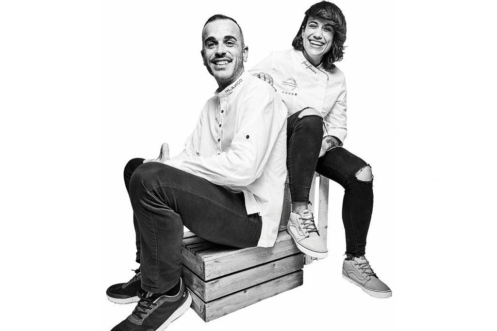 David Arteche y Sara Valls. Carmen Restaurant by Blanco, Formentera