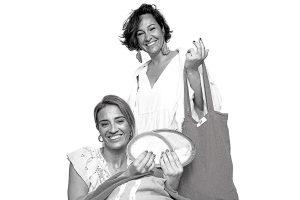 Elsa and Begoña. Bemed, Ibiza