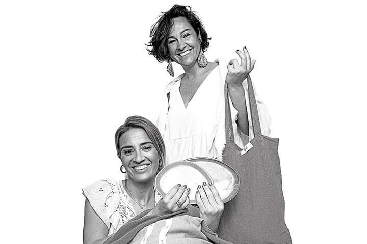 Elsa y Begoña, propietarias de Bemed. Ibiza