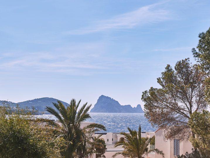 Es Vedra view from Seven Pines Resort Ibiza. Ibiza