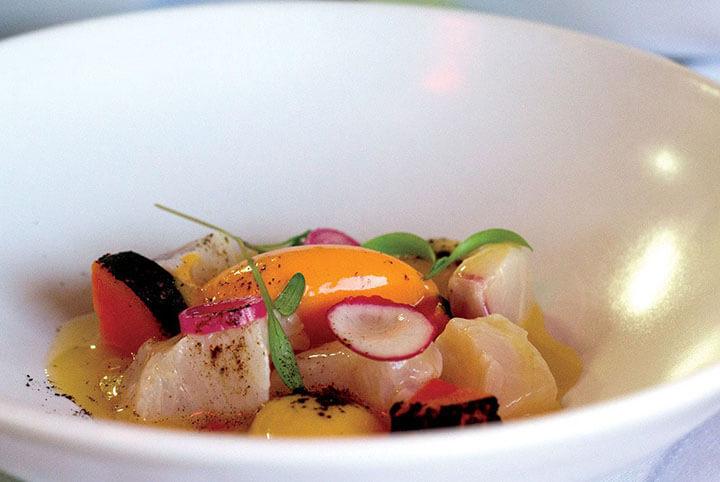 Grouper. Can Dani Restaurant, Formentera
