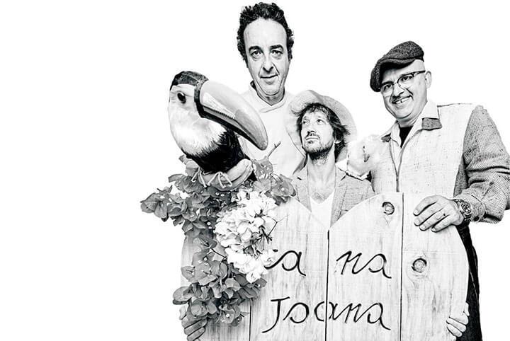 Jacinto, Georges y Constantino. Ca na Joana, Formentera