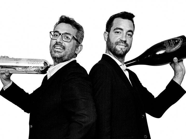 Javier y Toni, copropietarios de Bedrinks. Ibiza