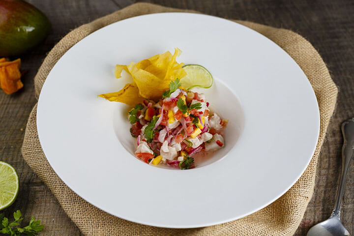 White fish ceviche. Linda Di Somma, Ibiza