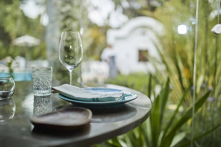 Restaurante del Hotel Casbah Formentera