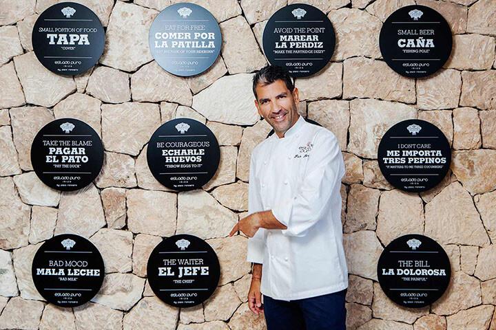 PAco Roncero en el Restaurante Estado Puro - Ibiza