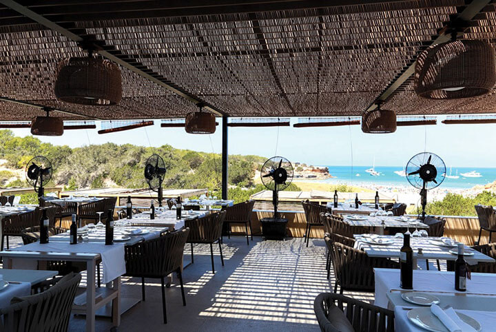 Restaurant Sol Post terrace, Formentera