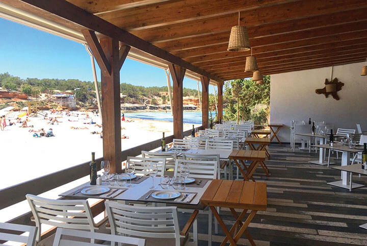 Restaurant Sol terrace, Formentera