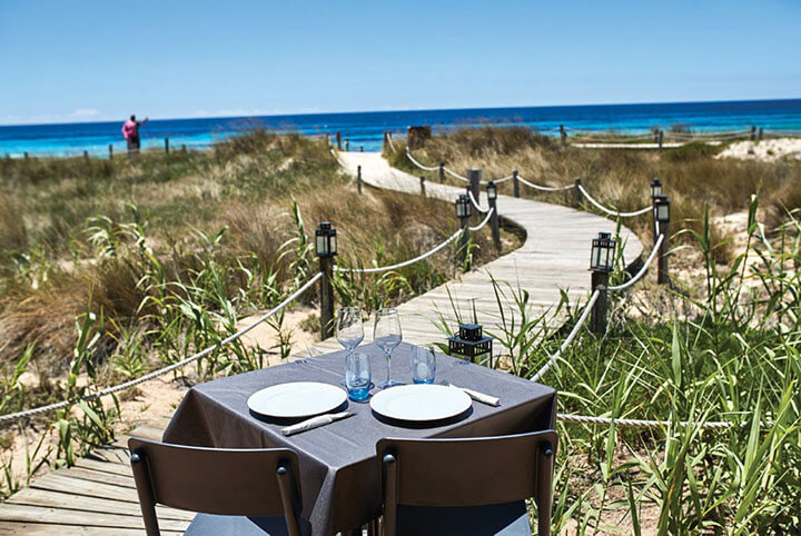 Vistas desde el Restaurant Vogamarí Formentera
