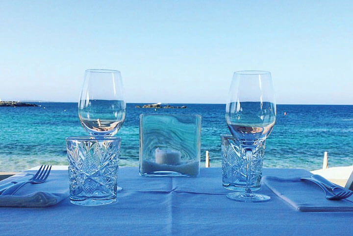 Restaurante Bocasalina. Formentera