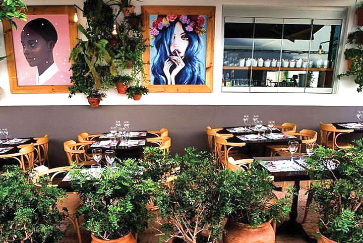 Restaurante Casadela Cantina y Pescado. Formentera
