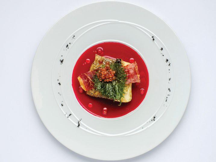 Sea bass. Restaurant Molo47, Formentera
