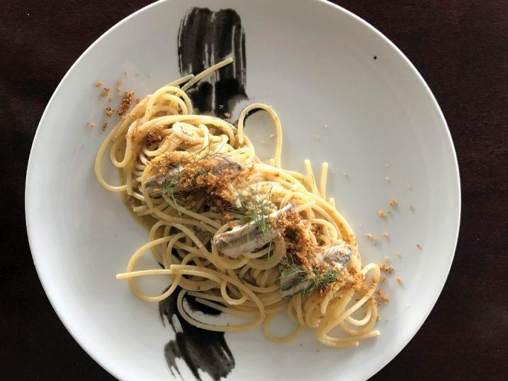 Spaghetti. Restaurant Casadela Cantina y Pescado, Formentera