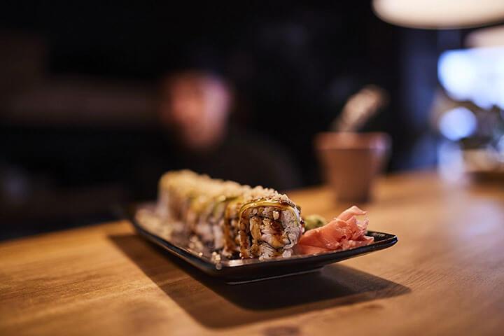 Sushi. Japonería Bufambo, Formentera