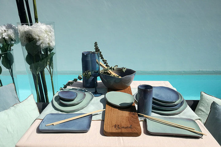 Tableware. Bemed, Ibiza