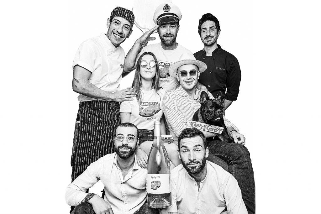 Restaurant ChezzGerdi team. Formentera