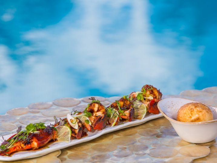 Bogavante al chilli. Destino Restaurant, Ibiza