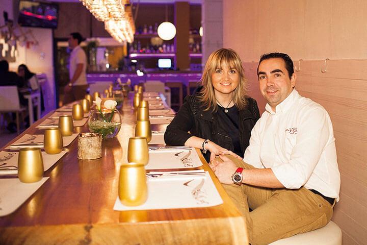 Esther y Pere, propietarios de Sa Brisa. Ibiza