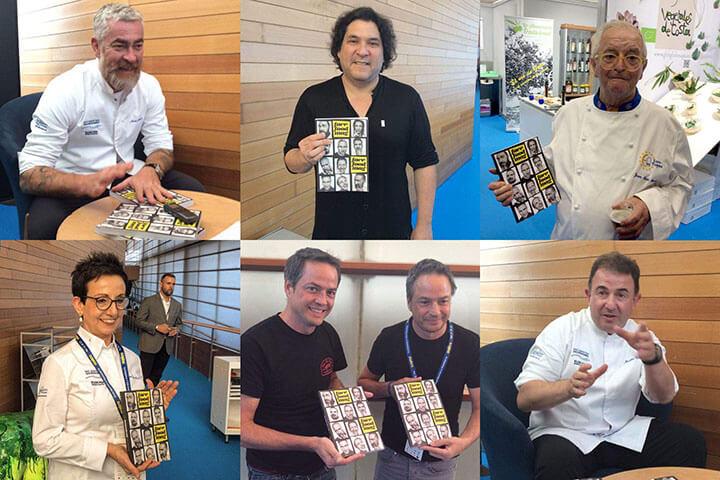 Atala, Acurio, Arzak, Buscadella, Torres y Berasategui in Gastronomika 2016