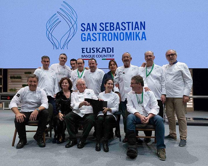 Homenaje a Arzak en el Gastronomika 2018