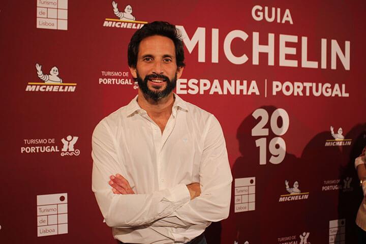 José Avillez coordinador de la Gala de la Guía Michelin 2019 para España y portugal