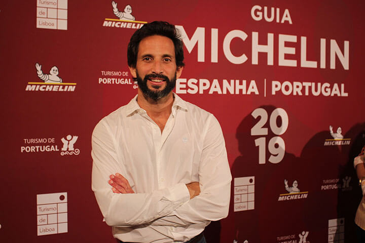 José Avillez during the official presentation of the Michelin Guide 2019 event at the Lisbon City Council.