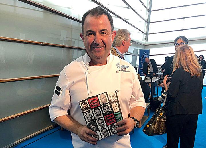 Martín Berasategui en Gastronomika 2018