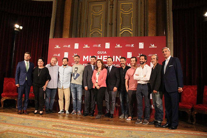 Presentacion de la Gala de la Guía Michelin 2019 Espana y Portugal