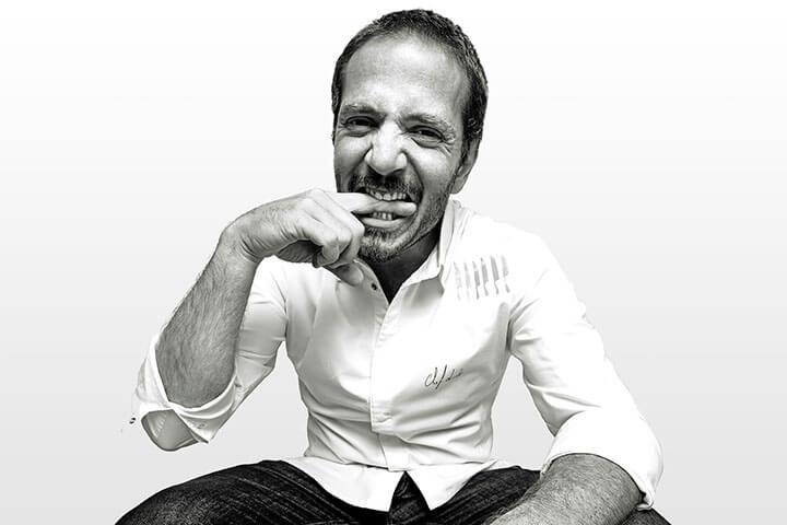 Chef Kiko Martins, owner of Restaurant O Asiático. Lisbon