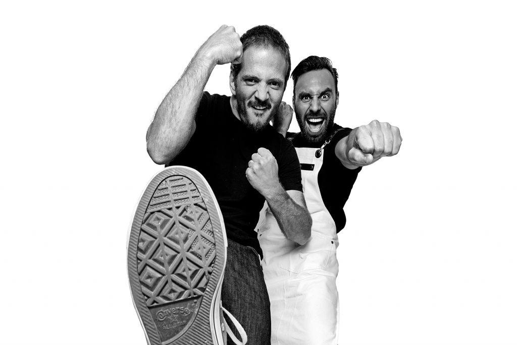 Kiko e Paulo, chef do restaurante O Asiático. Lisboa