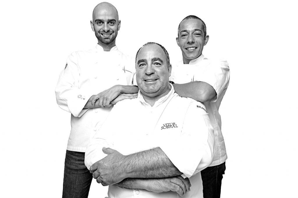 Miguel, Vitor e Hugo. Tasca do Esquina