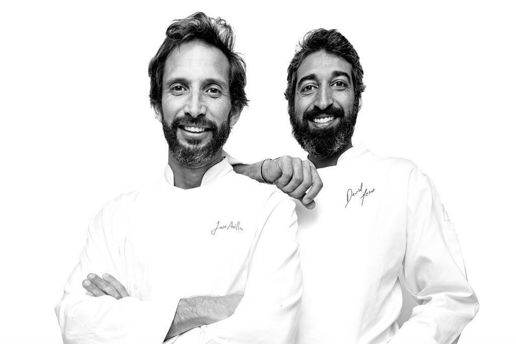 José Avillez e David Jesus. Restaurante Belcanto, Lisboa.