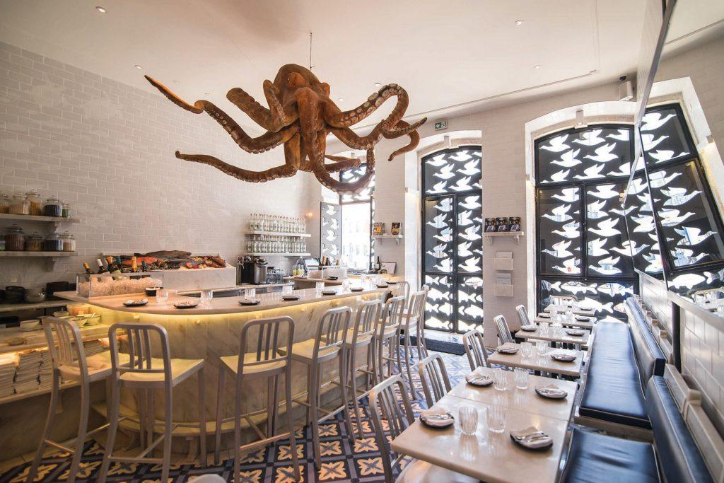 Restaurant A Cevicheria, Lisbon
