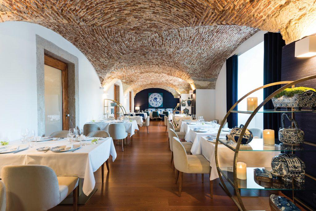 Restaurant Ânfora. Lisbon