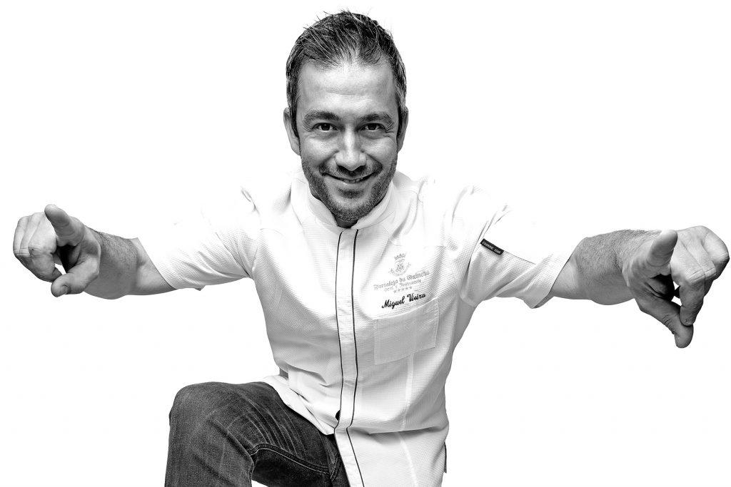 Michel Rocha Vieira chef do restaurante Fortaleza do Guincho