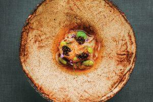 Squid sashimi. Midori Restaurant, Lisbon
