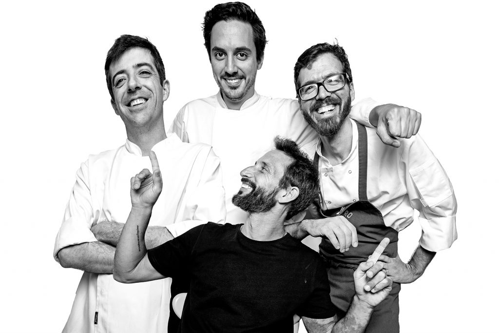 The team of the restaurant Bairro do Avillez, Lisbon