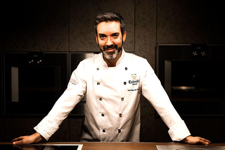 Chef Henrique Sá Pessoa. Atelier