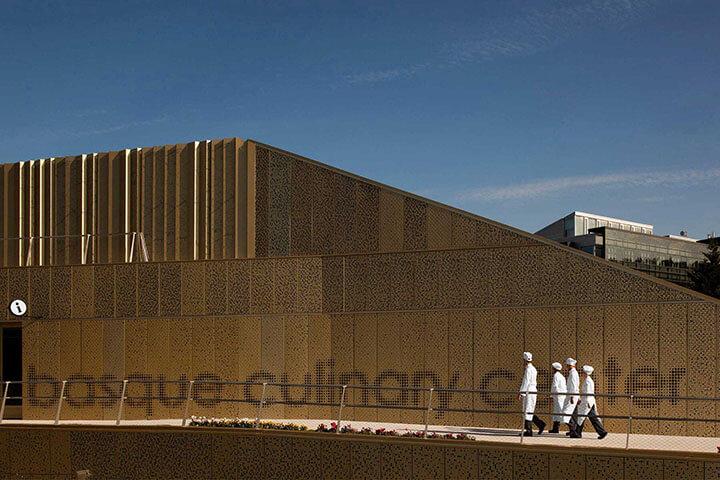 Edificio de la escuela gastronómica Basque Culinary Center