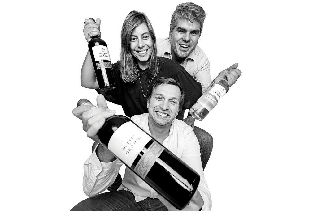 Bruno, Ana and Daniel. Team of Restaurante Quinta do Gradil