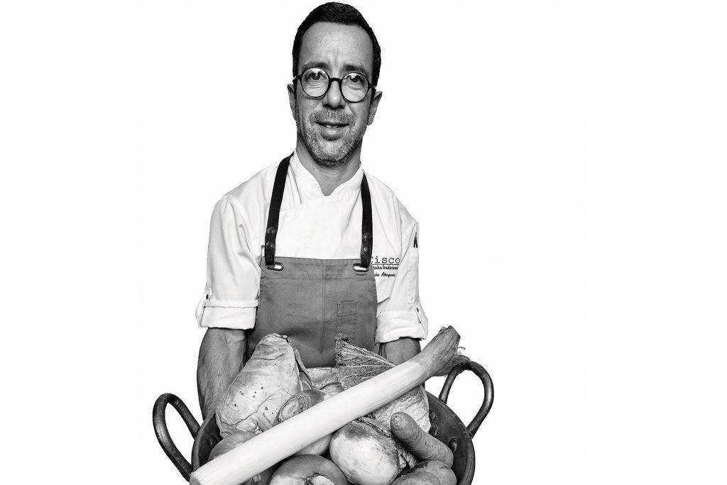 Alexandre Albergarcia, chef of Cisco - Cozinha Tradicional. Lisbon