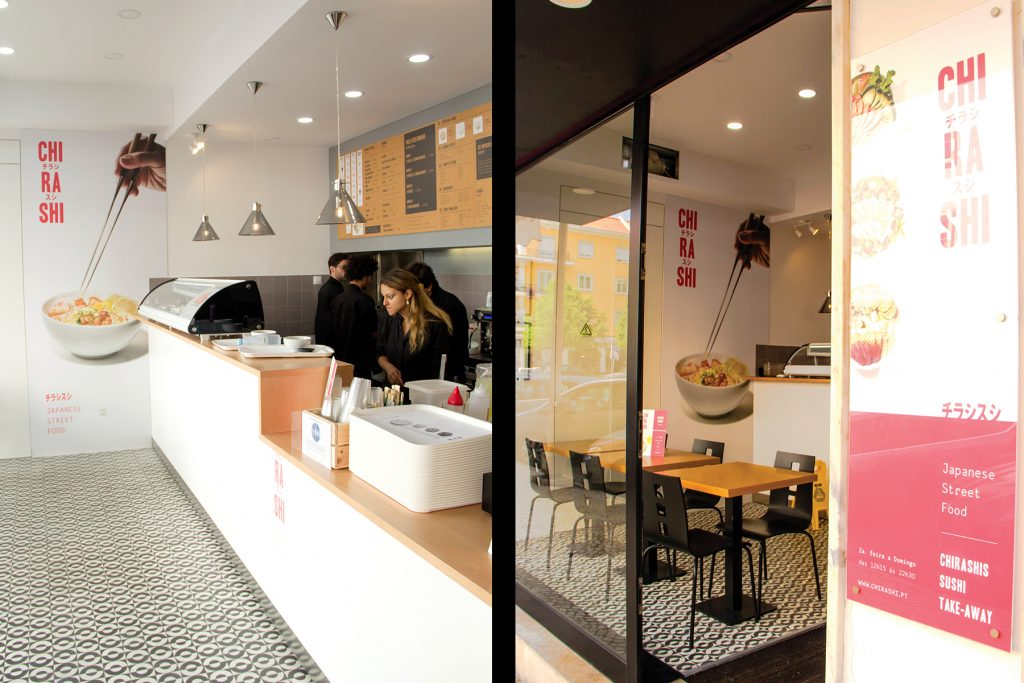 Restaurante Chirashi Sushi, Lisboa
