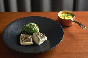 Cod dish. O Ato Restaurant, Lisbon
